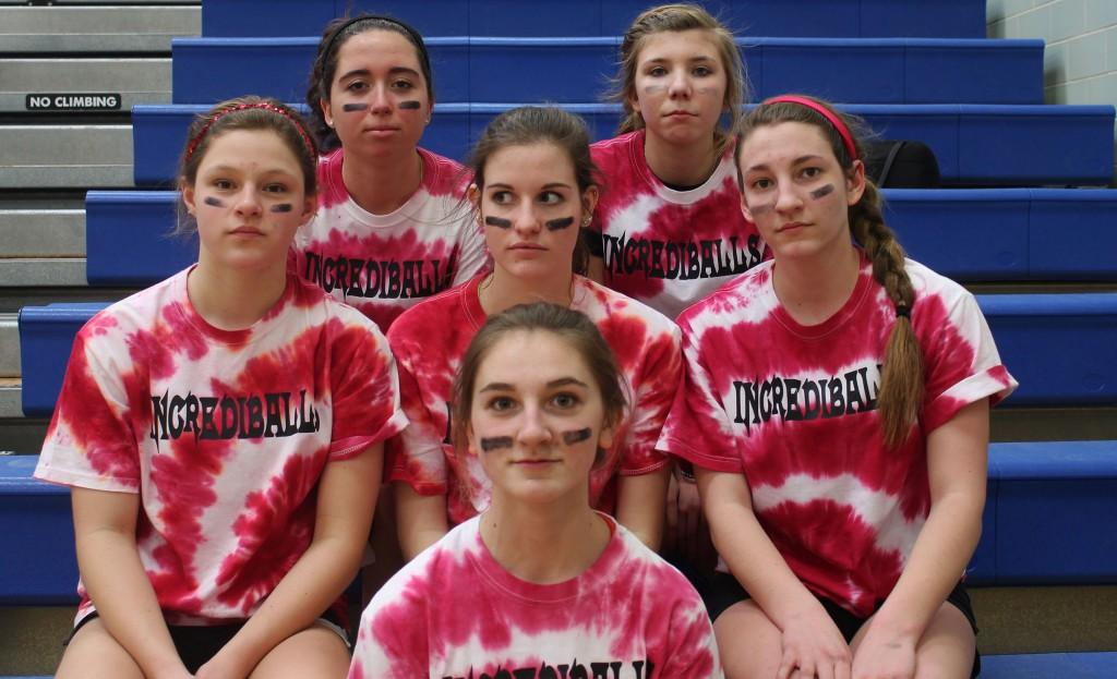 The Incrediballs won the tournament in the girls' category.