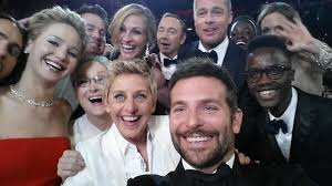 Ellen's record-breaking selfie from the Oscars.