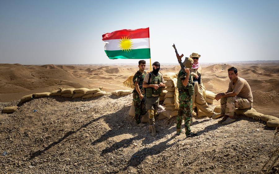 Pershmega forces in Sinjar- Ben Snell