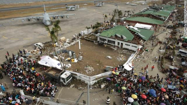 Disaster Strikes in the Philippines