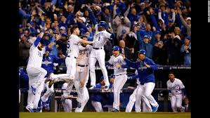 Kansas City Royals looking very powerful in this Year's World Series